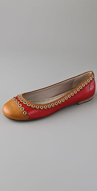 Marc by Marc Jacobs Scalloped Cap Toe Flats