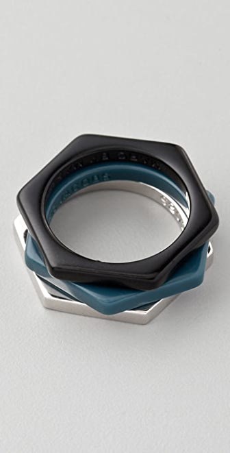 Marc by Marc Jacobs Bolt Ring Set