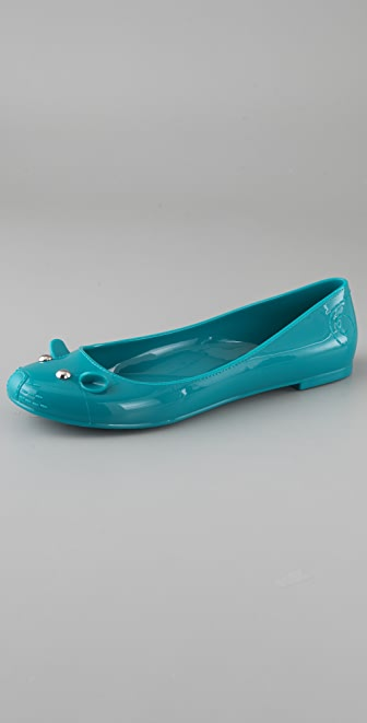 Marc by Marc Jacobs Mouse Jelly Flats
