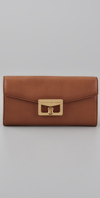 Marc by Marc Jacobs Bianca Continental Wallet with Chain