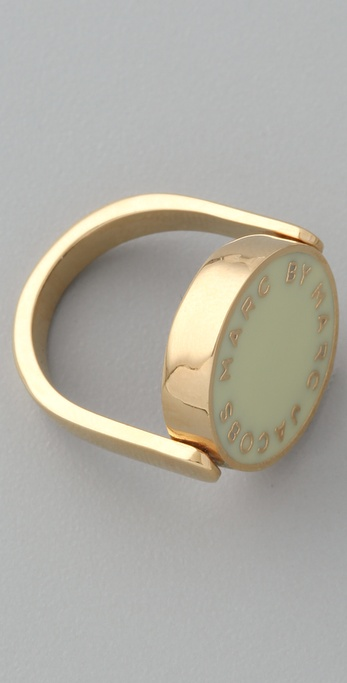 Marc by Marc Jacobs Classic Marc Enamel Discs Spin Ring