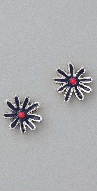 Marc by Marc Jacobs Miss Marc Flower Stud Earrings