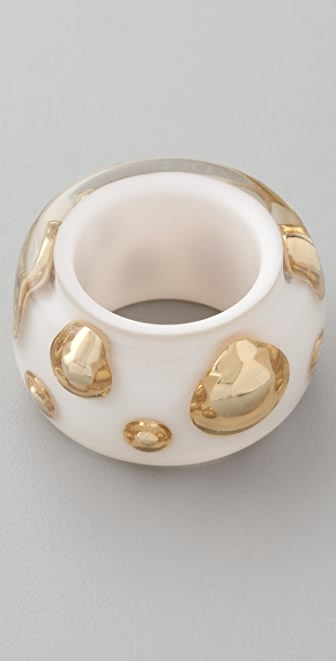 Marc by Marc Jacobs Polka Dot Confetti Cocktail Ring