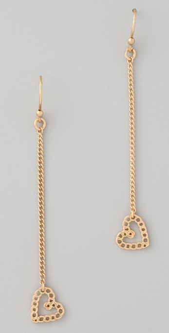 Marc by Marc Jacobs Surreal Heart Drop Earrings