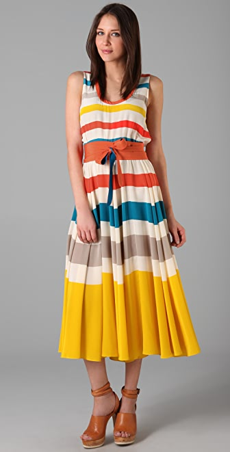 Marc by Marc Jacobs Simone Stripe Dress