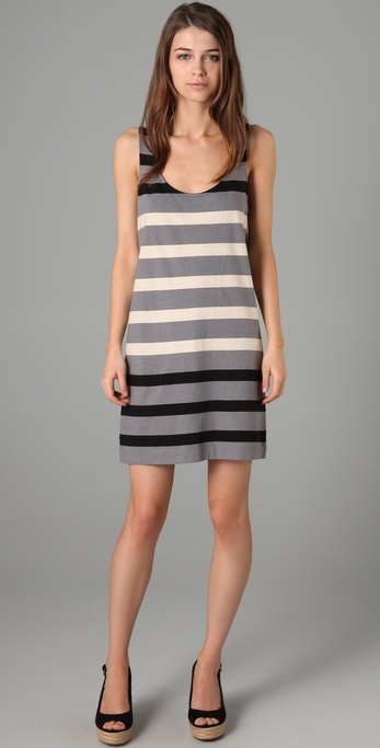 Marc by Marc Jacobs Schooner Stripe Jersey Dress