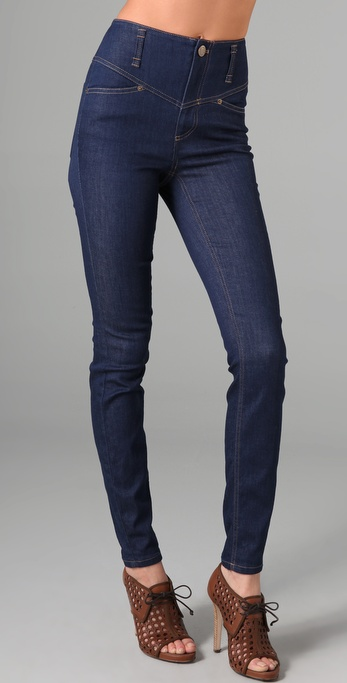 Marc by Marc Jacobs High Waist Denim Leggings