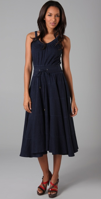 Marc by Marc Jacobs Indigo Knit Dress