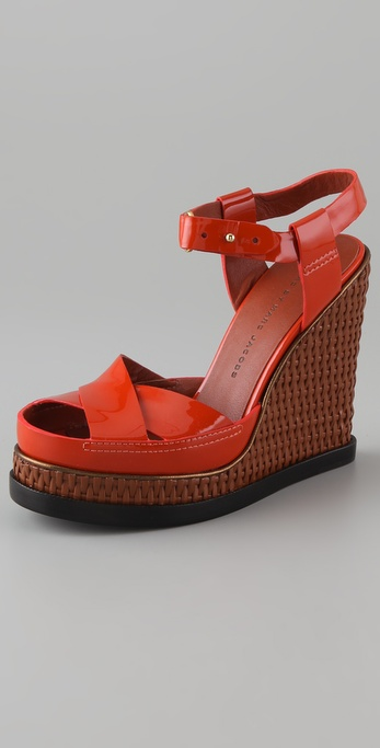 Marc by Marc Jacobs Platform Wedge Sandals
