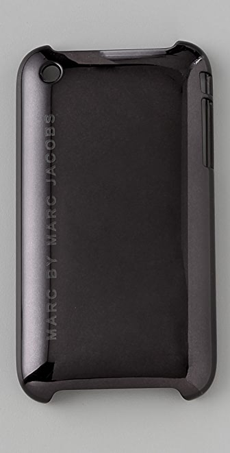Marc by Marc Jacobs Simple Logo Metallic 3G iPhone Cover