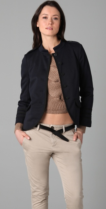 Marc by Marc Jacobs Obsidian Knit Jacket