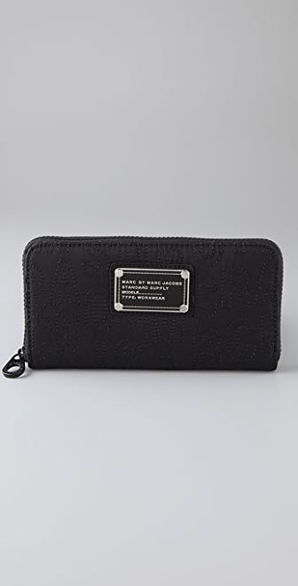 Marc by Marc Jacobs Pretty Nylon Large Zip Around Wallet