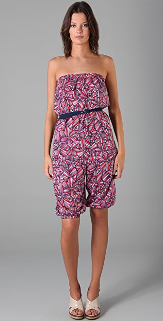 Marc by Marc Jacobs Pull On Romper Cover Up