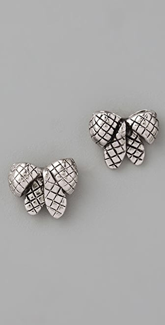 Marc by Marc Jacobs Bow Wow Wow Anabella Stud Earrings