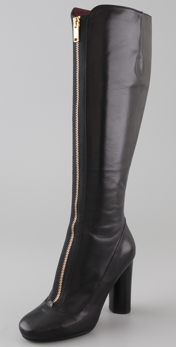 Marc by Marc Jacobs Zip Front High Heel Boots