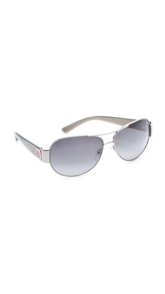 Marc by Marc Jacobs Polarized Aviator Sunglasses
