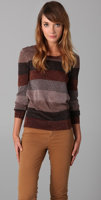 Marc by Marc Jacobs Camino Lurex Sweater