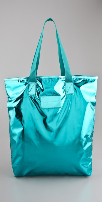 Marc by Marc Jacobs Metallic Packables Shopper