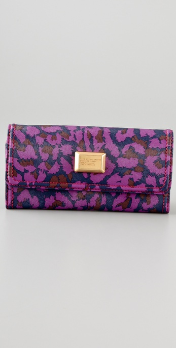 Marc by Marc Jacobs Animal Long Trifold Wallet