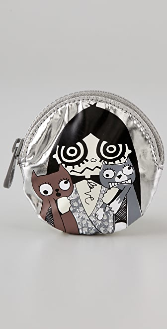 Marc by Marc Jacobs Miss Marc Packables Head Case Coin Purse