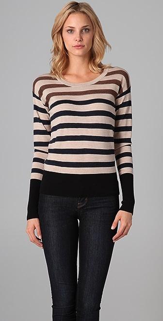 Marc by Marc Jacobs Jasmine Striped Sweater