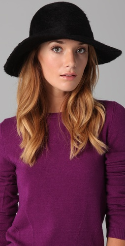 Marc by Marc Jacobs Angora Felt Hat