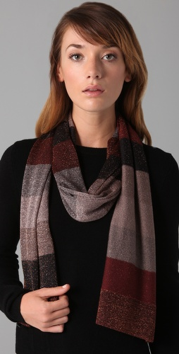 Marc by Marc Jacobs Camino Lurex Scarf