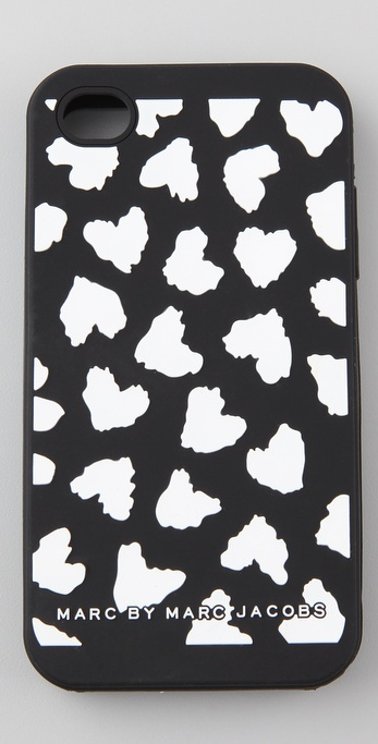 Marc by Marc Jacobs Wild Hearts iPhone 4 Cover