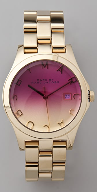 Marc by Marc Jacobs Henry Gold Watch
