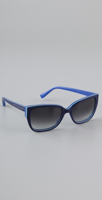 Marc by Marc Jacobs Colorblock Edge Sunglasses