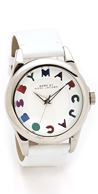 Marc by Marc Jacobs Dreamy Logo Bubble Strap Watch
