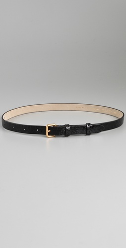 Marc by Marc Jacobs Python Shine Belt