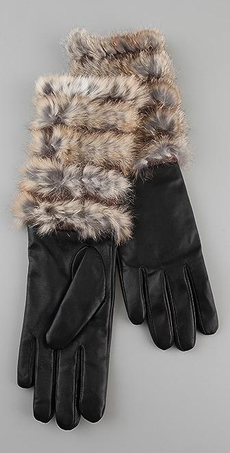 Marc by Marc Jacobs Lee Lee Fur Glove