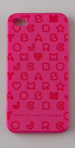 Marc by Marc Jacobs Stardust Logo iPhone 4 Cover