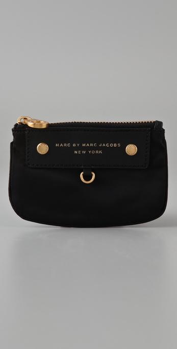 Marc by Marc Jacobs Preppy Nylon Key Wallet