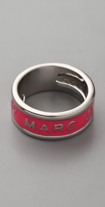 Marc by Marc Jacobs Classic Marc Logo Ring
