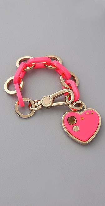 Marc by Marc Jacobs Big Heart Charm Bracelet