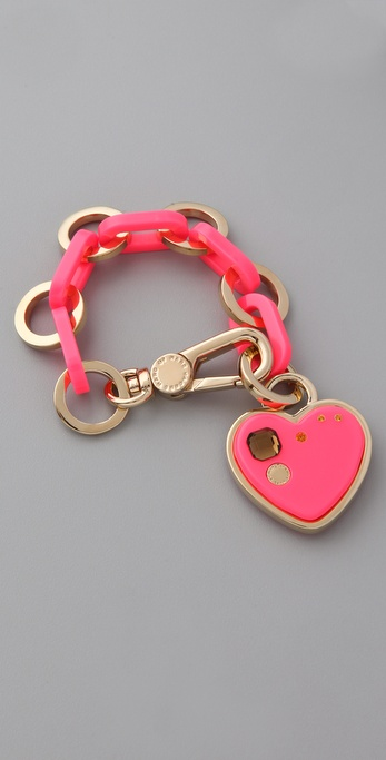 Marc by Marc Jacobs Big Heart Charm Bracelet
