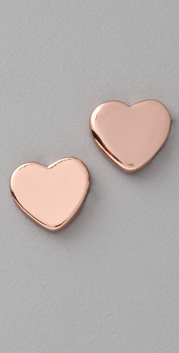 Marc by Marc Jacobs Mini Charm Heart Stud Earrings