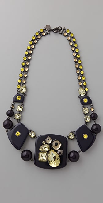 Marc by Marc Jacobs Gemma Margery Necklace