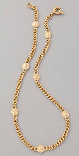 Marc by Marc Jacobs Turnlock Lock Link Necklace