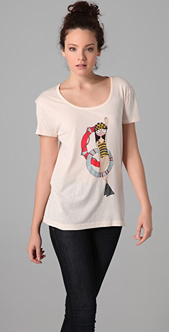 Marc by Marc Jacobs Miss Marc Makes A Splash Tee