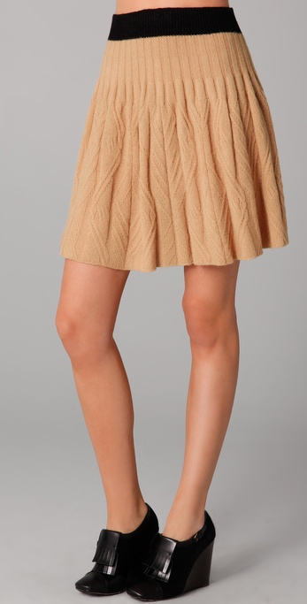 Marc by Marc Jacobs Cable Sweater Skirt