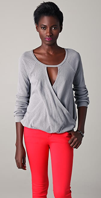 Marc by Marc Jacobs Misty Pointelle Blouse