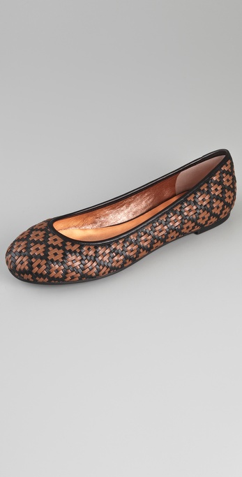 Marc by Marc Jacobs Woven Flats