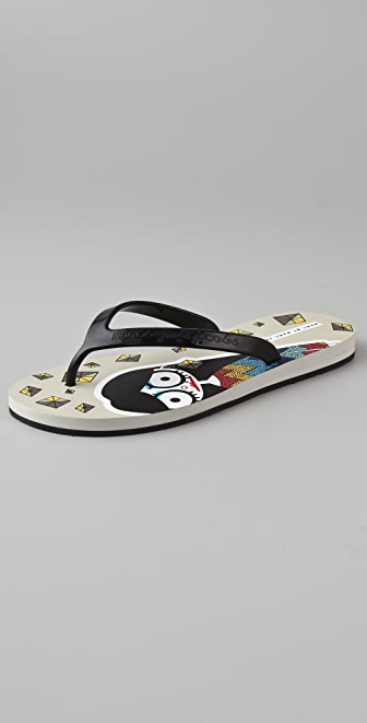 Marc by Marc Jacobs Miss Marc Flip Flops