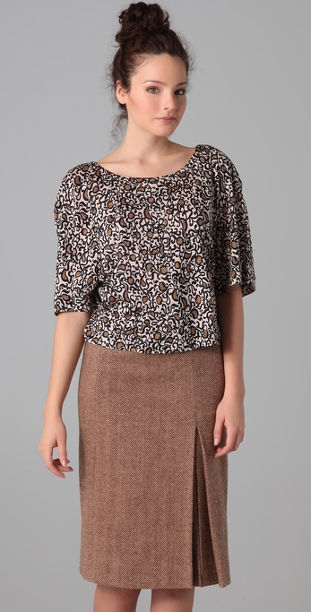Marc by Marc Jacobs Cordosa Print Top