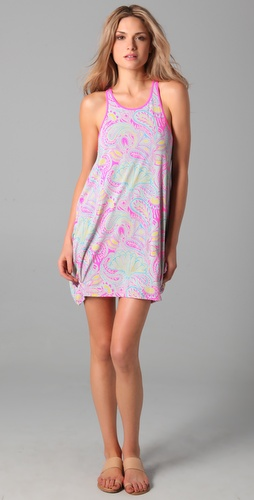 Marc by Marc Jacobs Racer Back Bubble Cover Up Dress