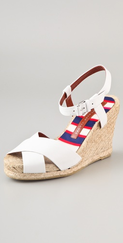 Marc by Marc Jacobs Espadrille Wedge Sandals