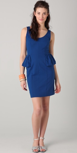 Marc by Marc Jacobs Hannah Peplum Dress
